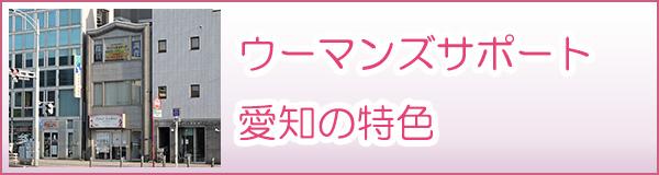 女性探偵社ウーマンズサポート名古屋(愛知)の特徴